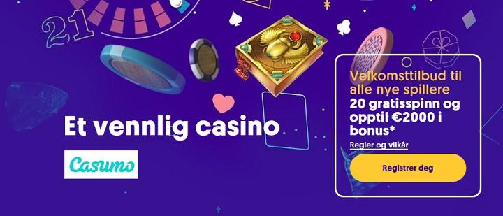 Finn de beste nye casinobonusene 2020