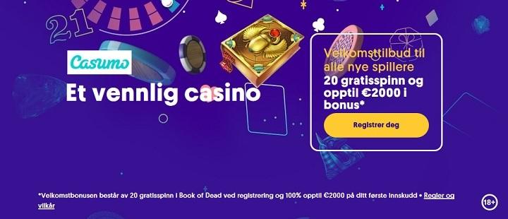 Casumo bonus 2021