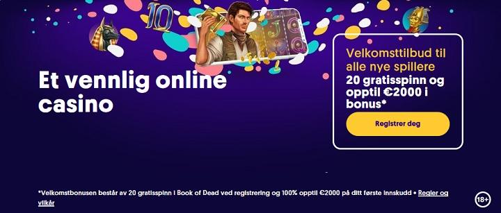 nettcasino med bonus 2021